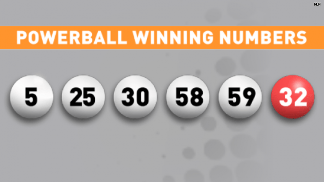 what was the powerball number for last night photo - 1