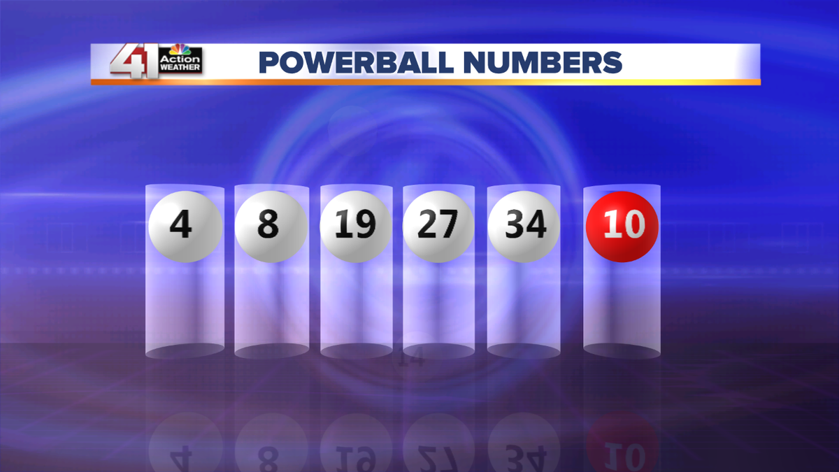 what were the powerball numbers from last night photo - 1