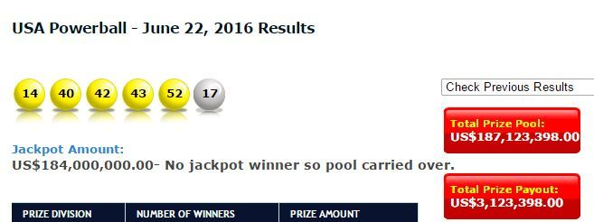 what were tonights winning powerball numbers photo - 1