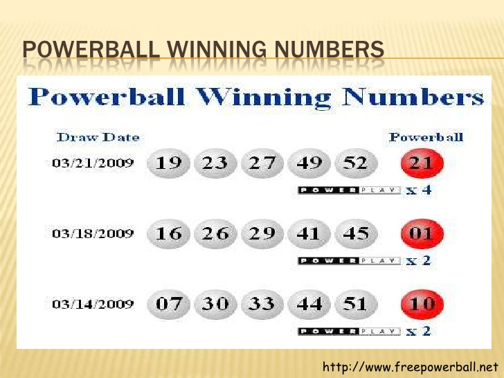 when do they draw the powerball numbers photo - 1